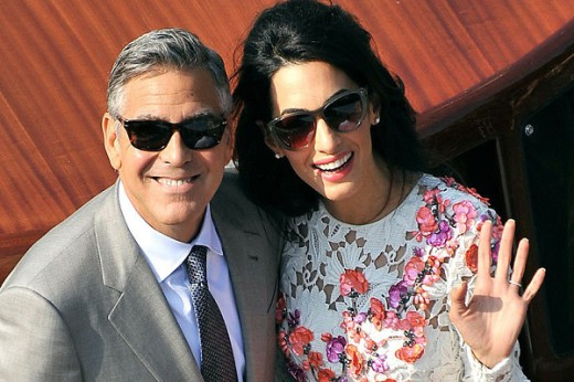 APTOPIX Italy Clooney Wedding