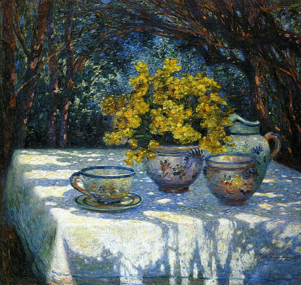Ferdinand du Puigaudeau - Table with Yellow Bouquet.jpeg