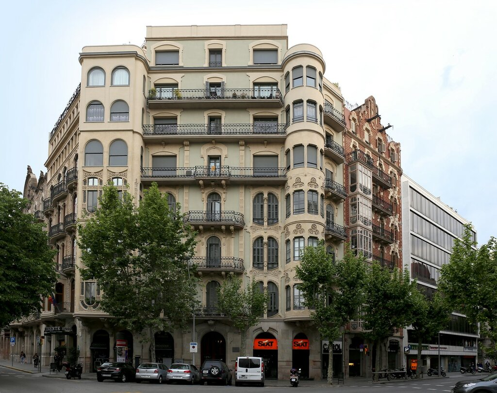 Барселона. Hotel HCC Regente