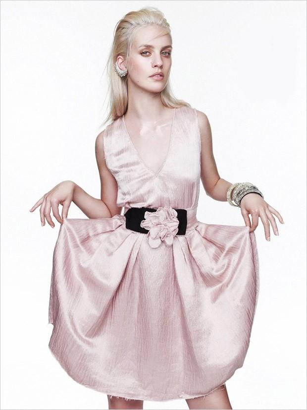 Джулия Фрош (Julia Frauche) в журнале Vogue Mexico