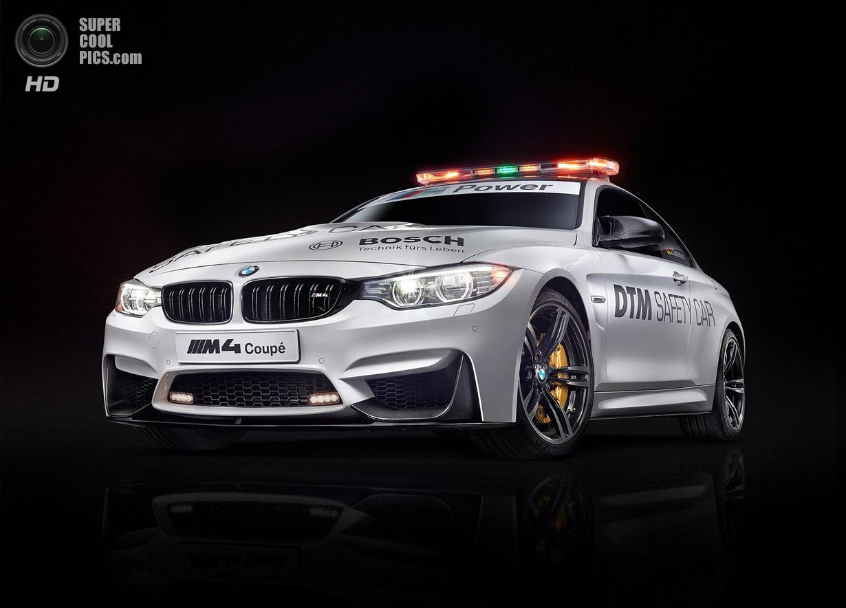 Новый BMW M4 станет пейс-каром DTM (12 фото)