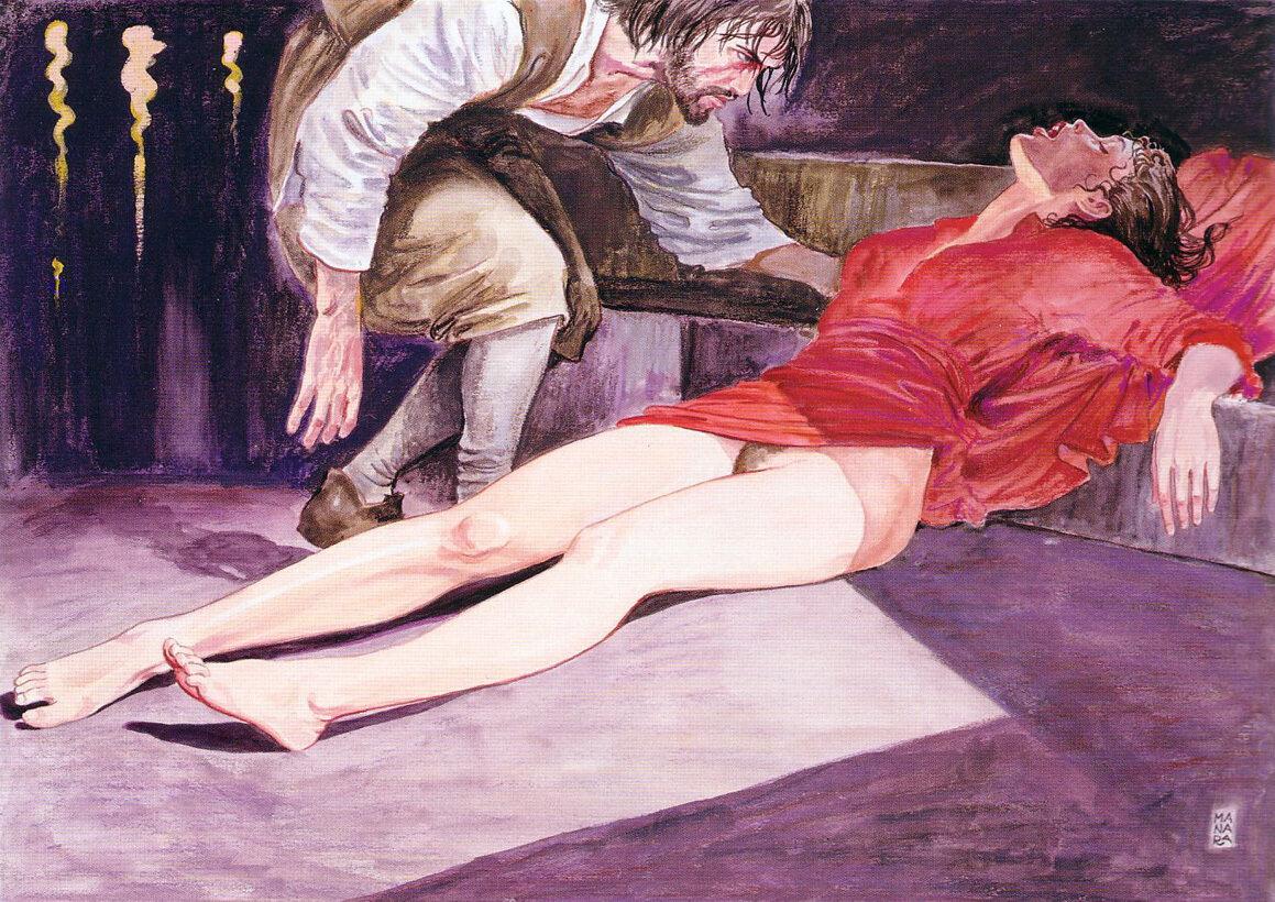 Эротические рисунки известных художников 0 фотография