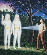 Космические прародители человечества. Те о ком написано в Библии!