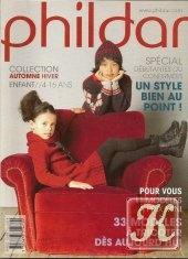 Книга Phildar №23 Enfant Collection Automne& Hiver