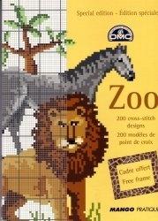 Книга Zoo. 200 cross-stitch designs