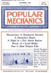 Журнал Popular mechanics №10 1906