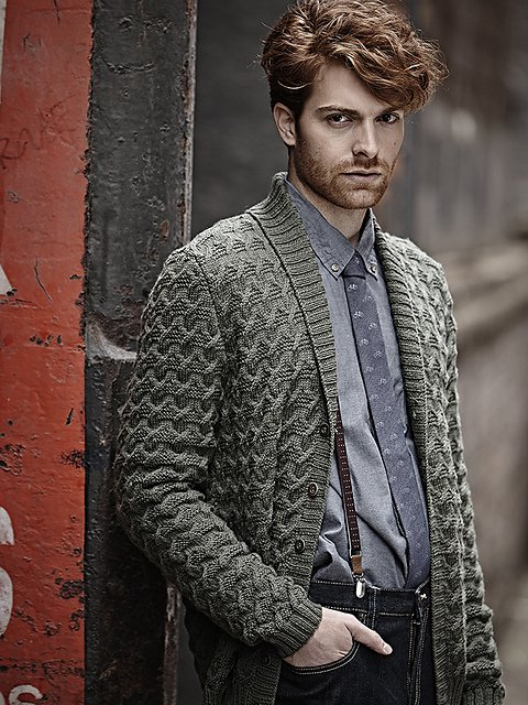 Жакет для мужчин Neat Tailored, Designer Knits..jpg