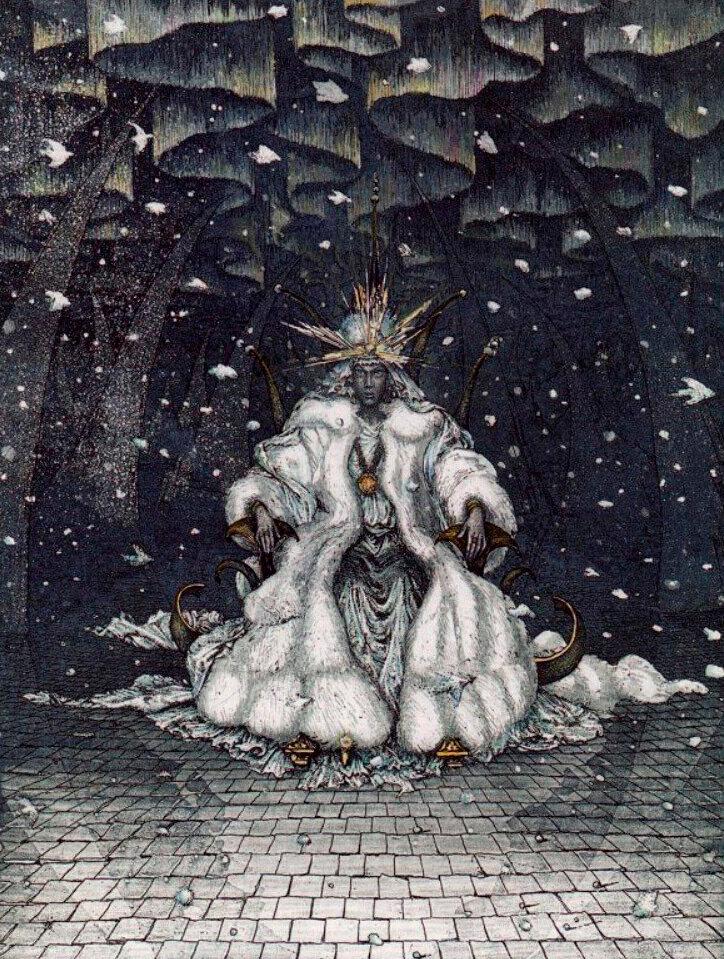 Снежная королева. Иллюстрации Бориса Диодорова.