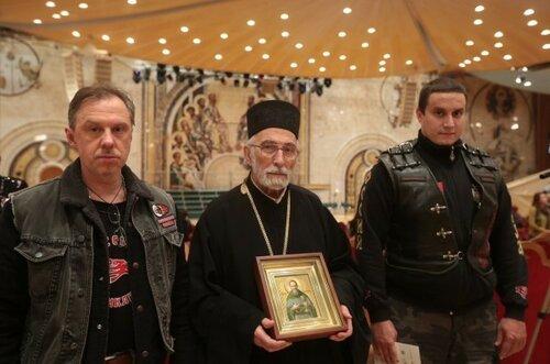 Саратовская икона преподобного Иоанна Кронштадтского отправляется в Сербию