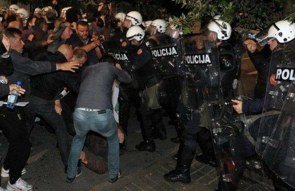 Черногория, протесты, Мило Джуканович, Песков