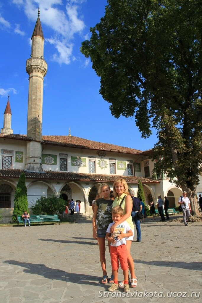 Крым, Бахчисарай, Ханский дворец