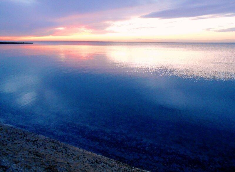 Спокойствие моря в красках вечерних ... DSCN3457.JPG