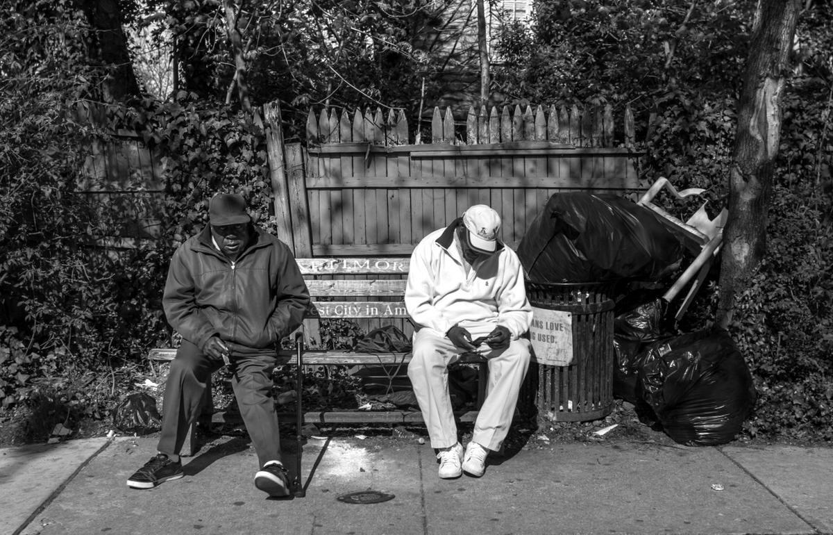 Неулыбчивая Америка: Черно-белая жизнь в бедных кварталах современного Балтимора (18)