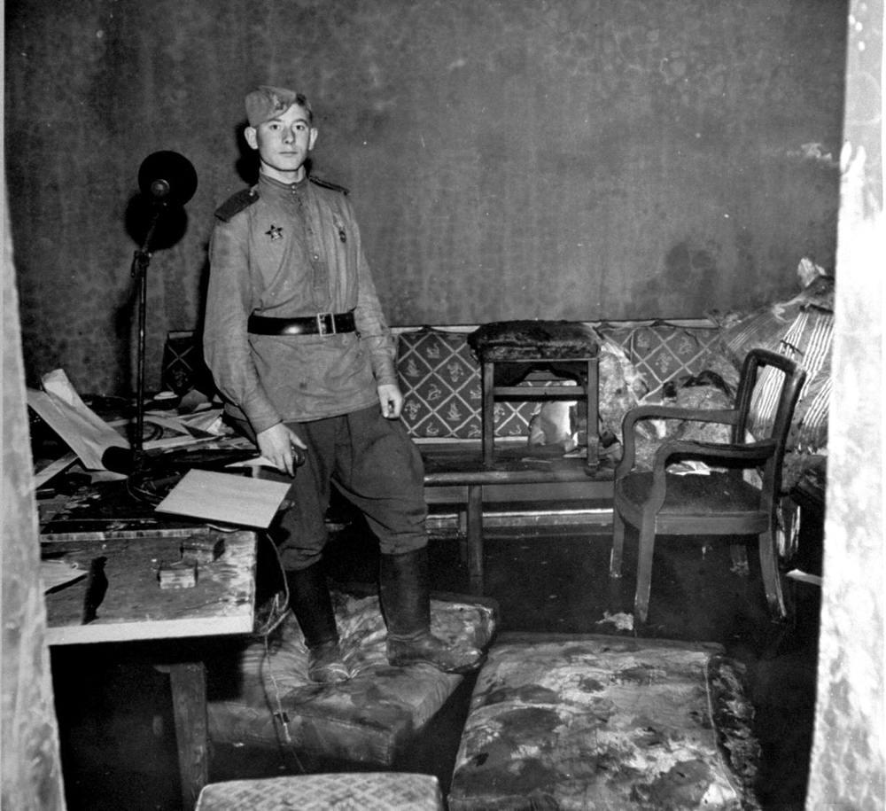 Падение Берлина на фотографиях весны 1945 года (10)