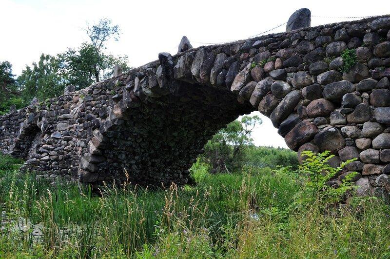 "Усадьба Василёво, ""чертов"" мост."