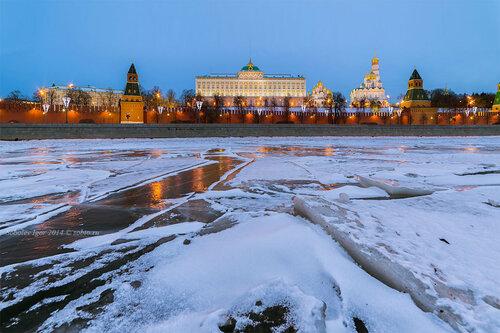 Холодно в Москве
