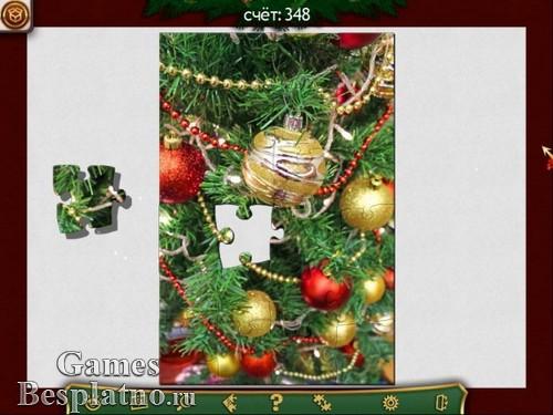 Праздничный пазл. Рождество