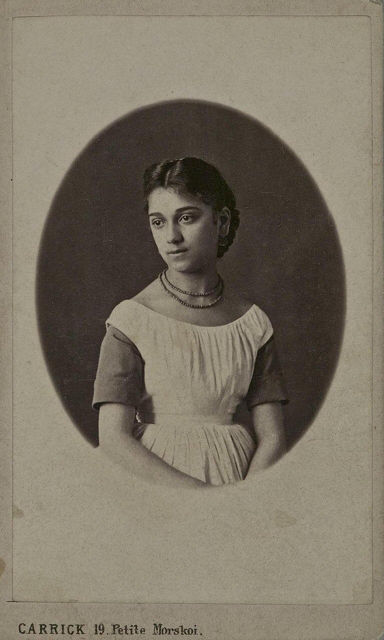 Портрет М.К.Багратион-Имеретинской 1867