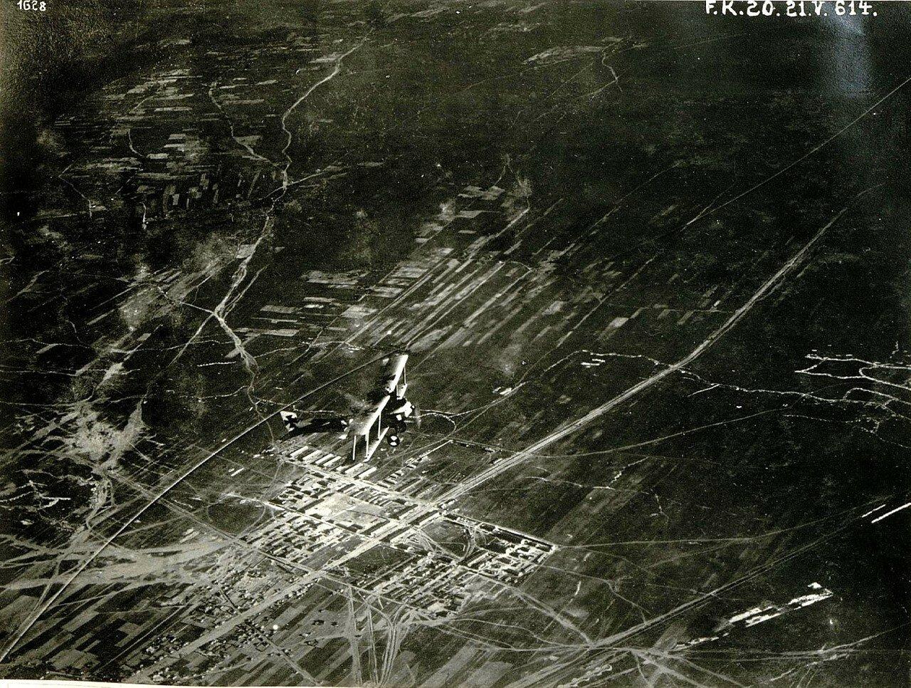 Аэрофотосъемка города