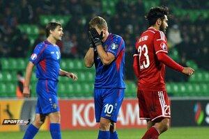 Молдавская сборная уступила гол команде Лихтенштейна