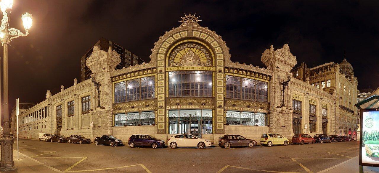 Бильбао. Вокзал  Конкордия (Estación Concordia-Bilbao)