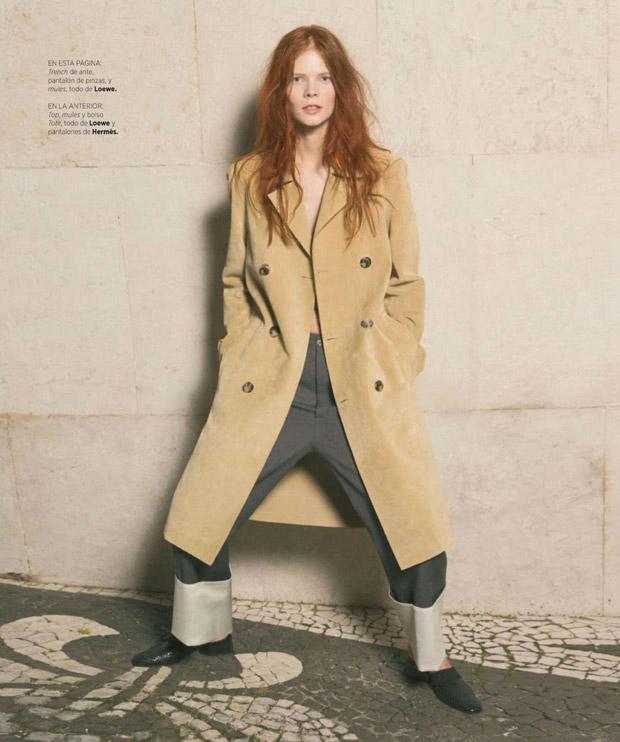 Ирина Кравченко (Irina Kravchenko) в журнале Harper's Bazaar Spain