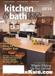 Журнал Kitchen & Bath Design News - October 2014