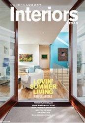 Журнал Modern Luxury Interiors - Summer 2013 (Texas)