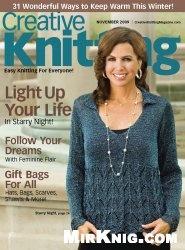 Журнал Creative Knitting №11 2009