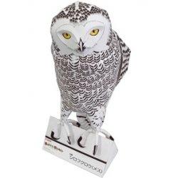 Журнал Бумажная модель-Белая сова