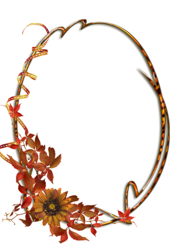 Осенняя рамка
