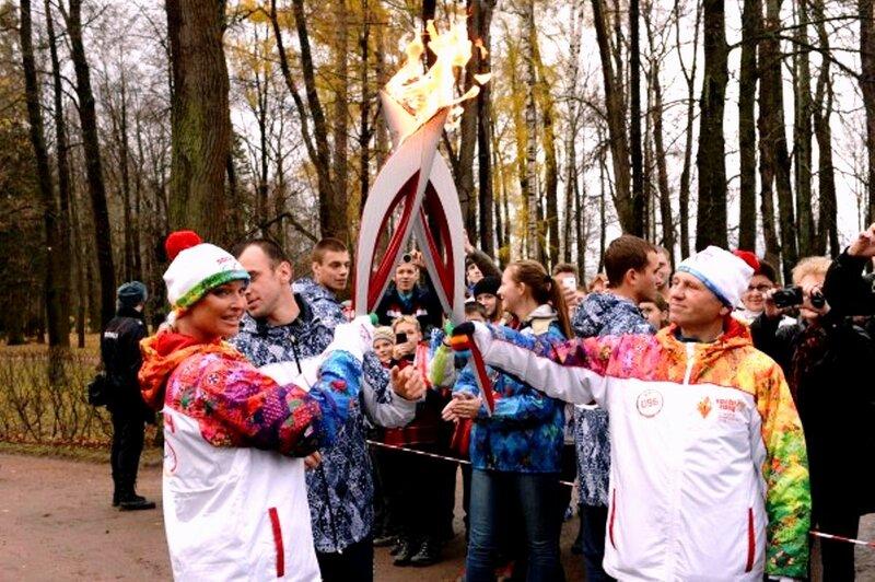 Анастасия Волочкова, Олимпийский огонь (4).jpg