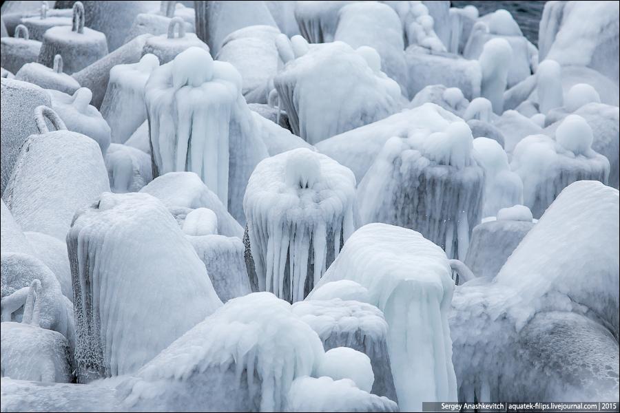 Морозный Севастополь