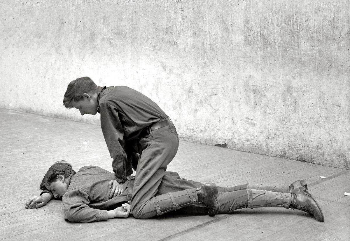 Американские бойскауты начала 20-го века на снимках фотографов (10)