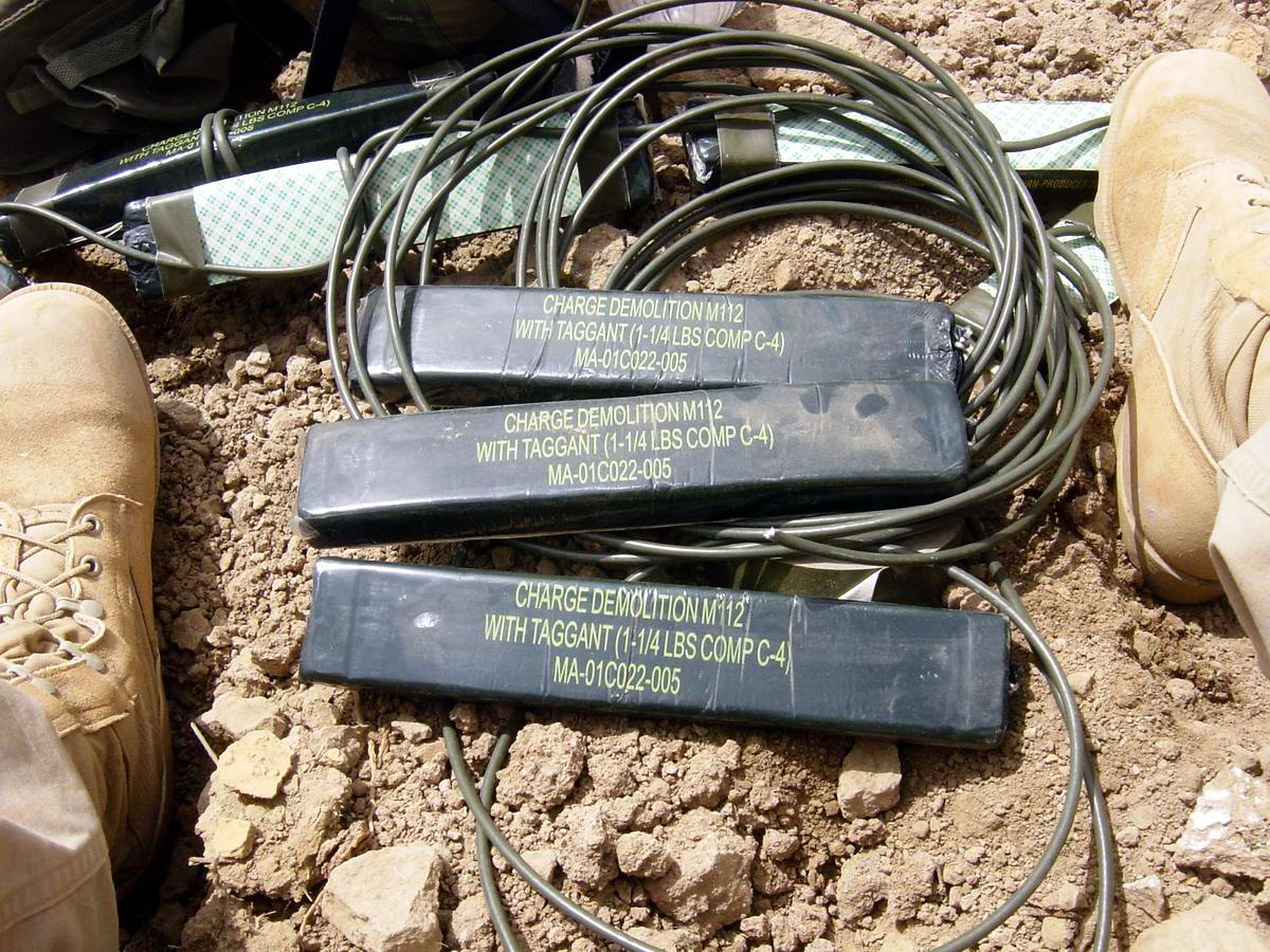 О способах использования пластической взрывчатки С-4 в Ираке и Афганистане (1)