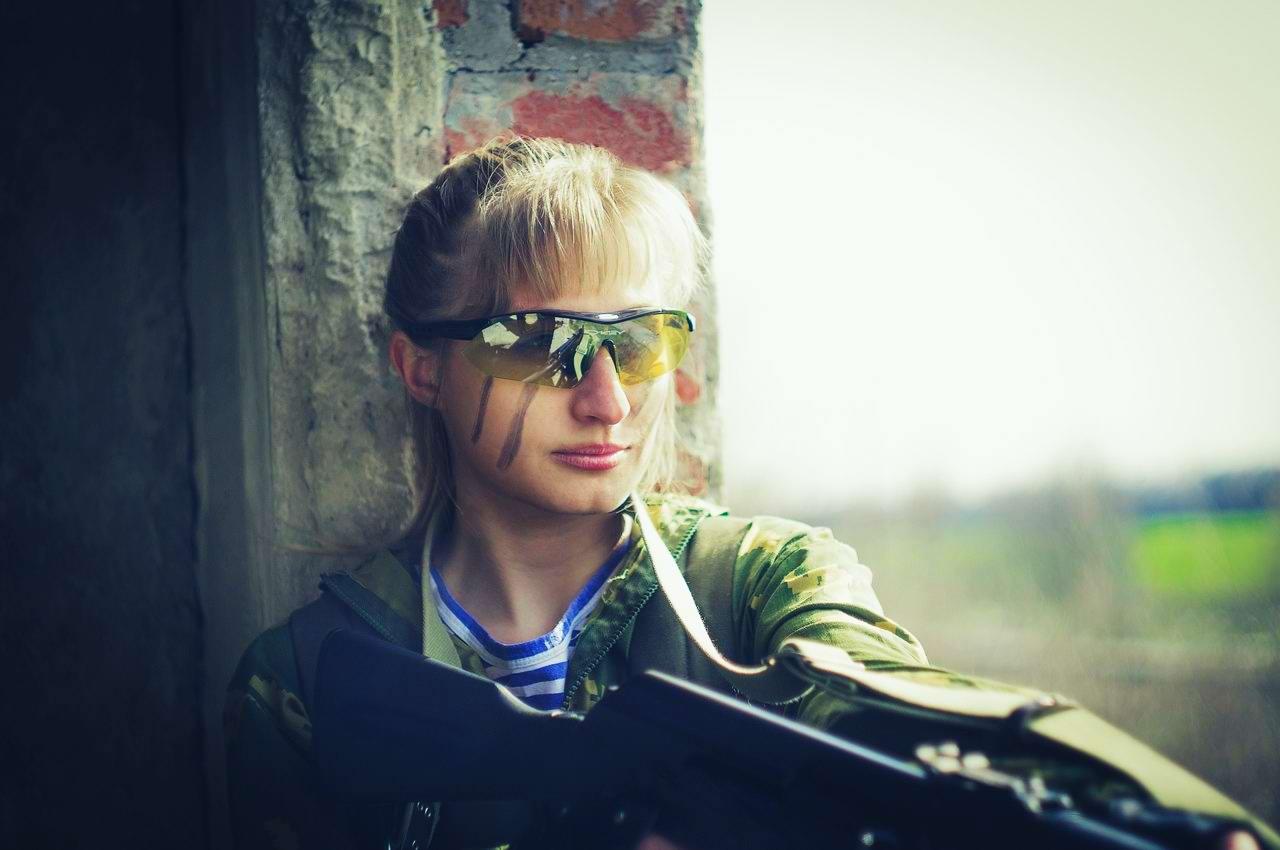 Боевые подруги: Фотосессия в стиле Military - лазертаг клуб - Отряд 61 - (Ростов-на-Дону) (12)