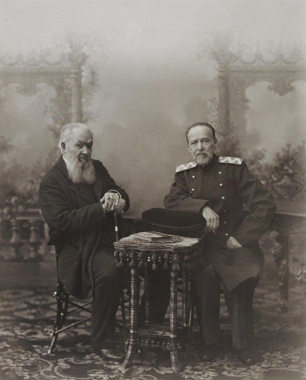 Портрет Алексея Сергеевича Суворина и Сергея Николаевича Шубинского