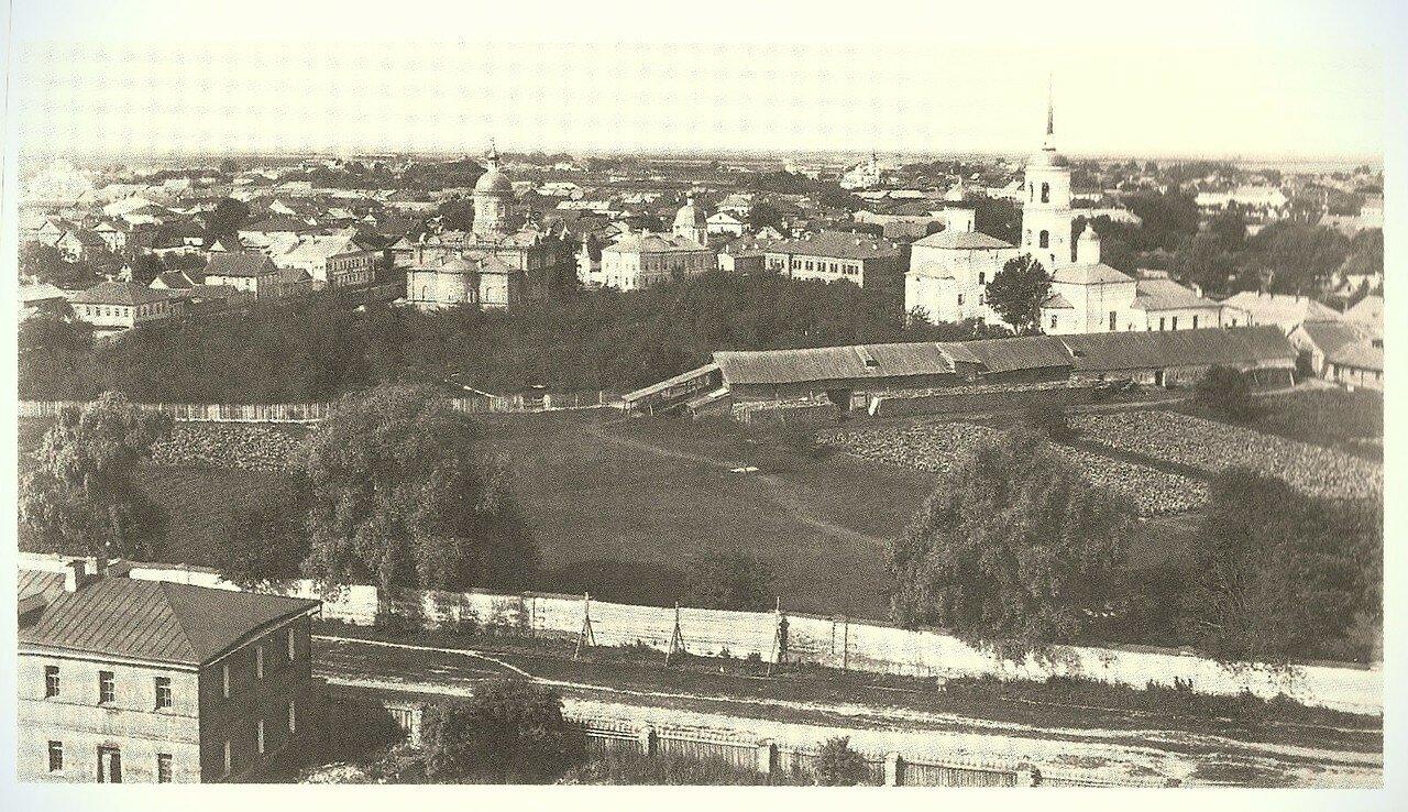 Панорама Спасо-Преображенского монастыря с северо-востока. 1892