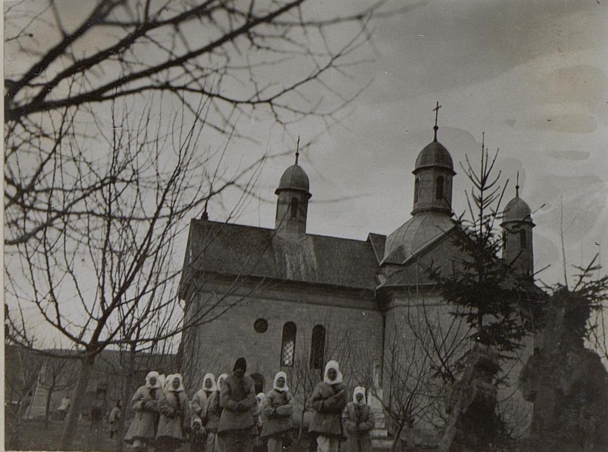 Галиция. Униатская церковь в Дорошовцах