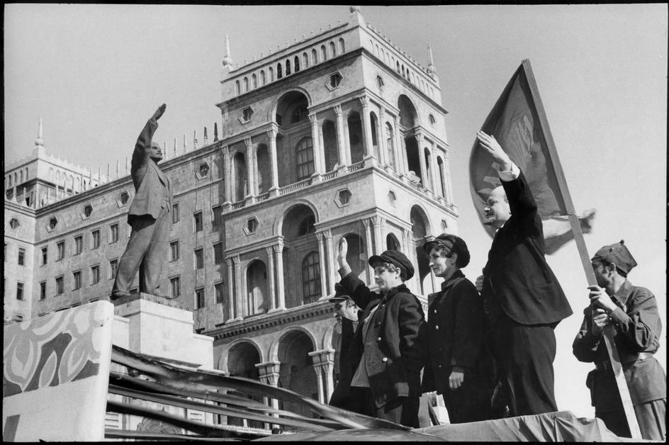 1972. Азербайджан. Баку.  7 ноября