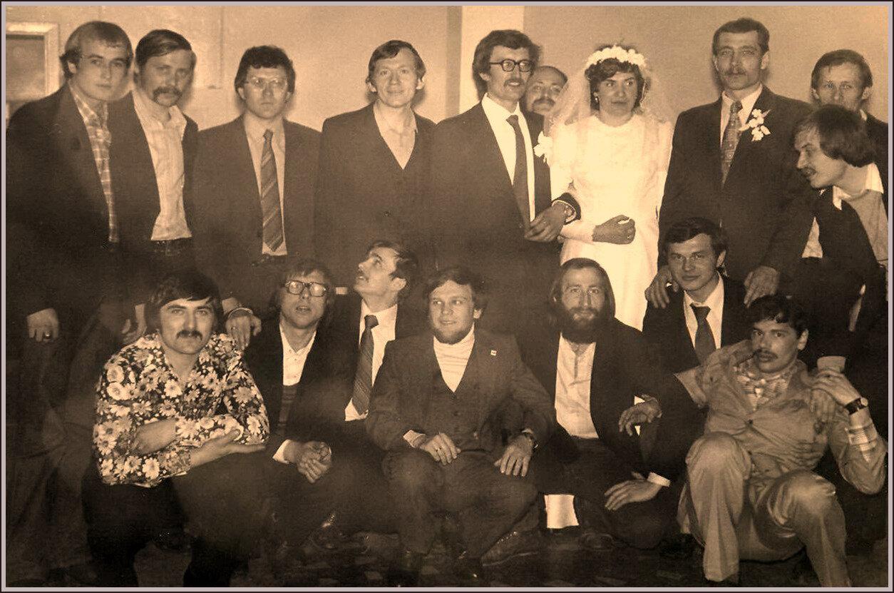 1982. Бывшие студенты политехнического, РТФ, Омск