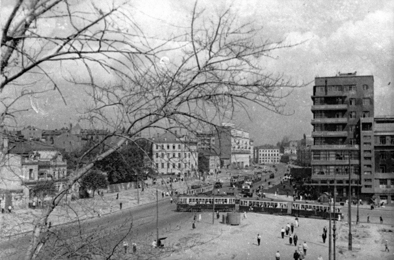 1934-1936. Земляной Вал до реконструкции