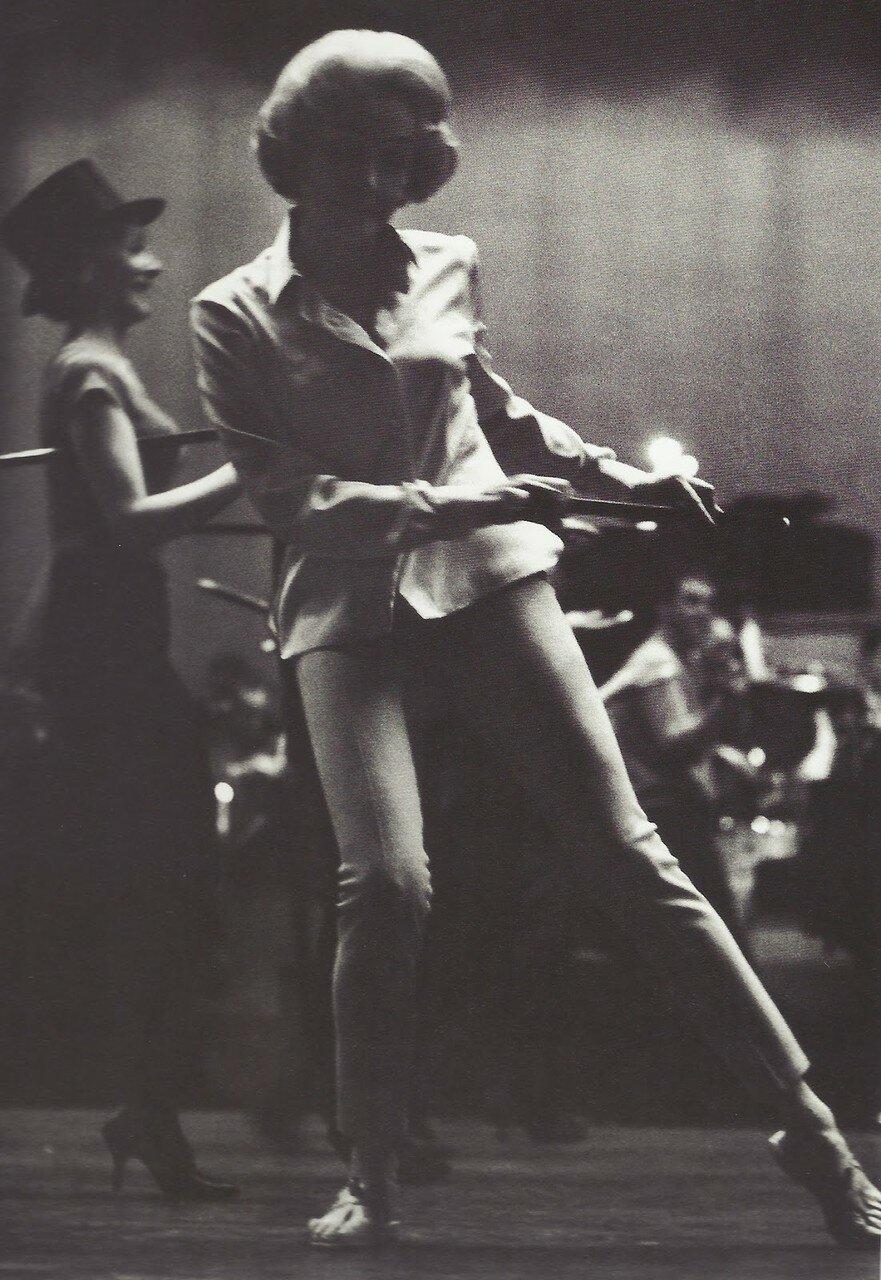 1962. Марлен Дитрих на репетиции в Олимпии (Париж)