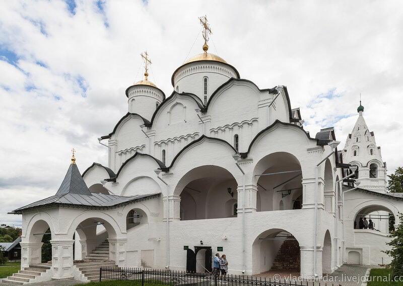 Покровский собор. Свято-Покровский монастырь в Суздале.