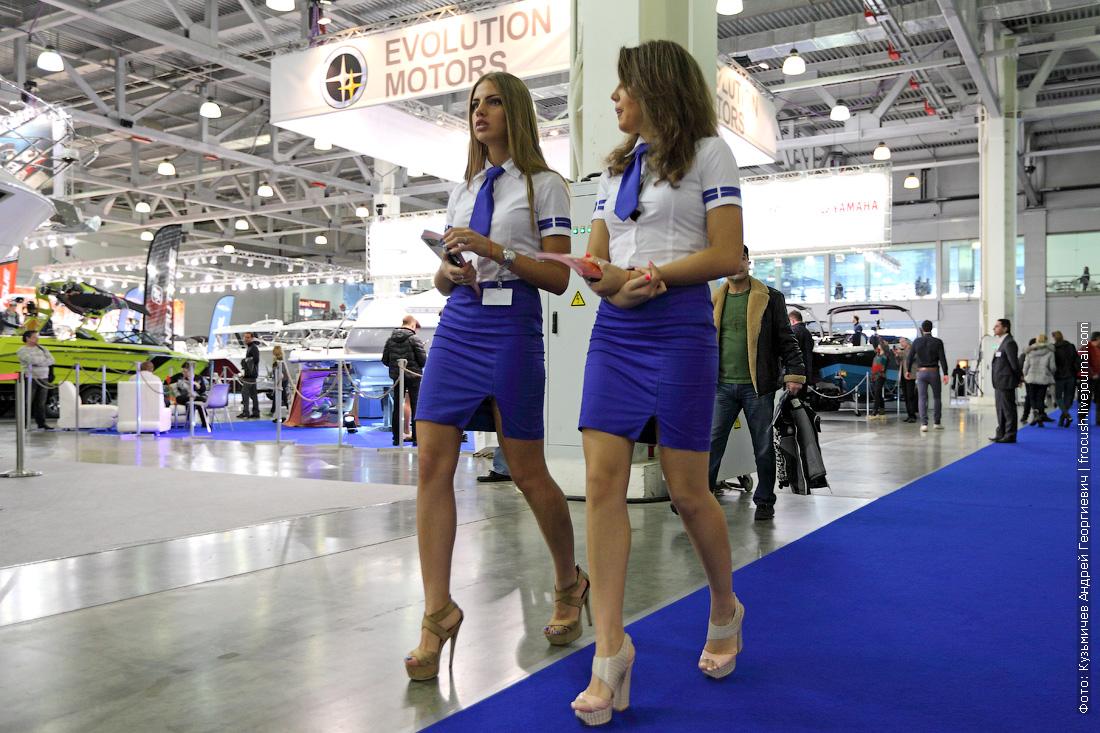 выставка катеров и яхт крокус экспо 2015 девушки