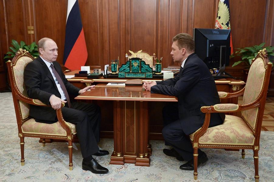 Путин принимает Миллера 15.06.15.png