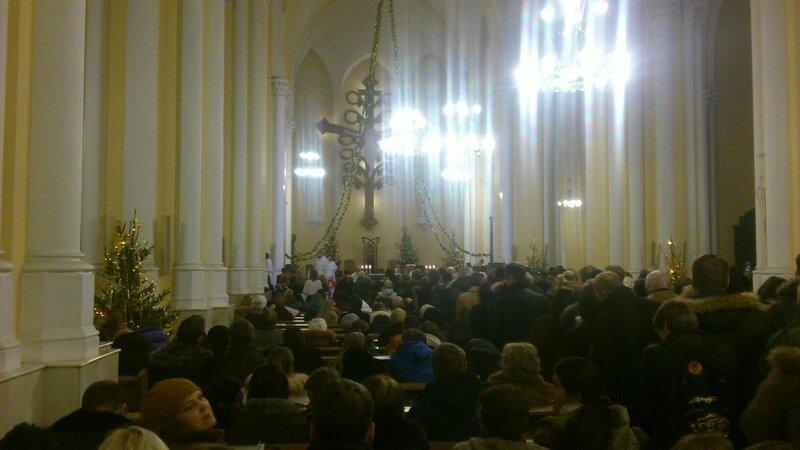 рождество, храм, месса, католики, малая грузинская