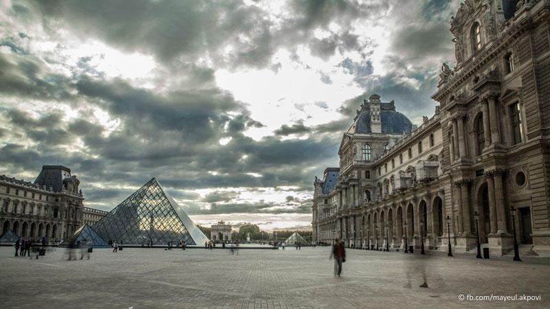 Париж в движении