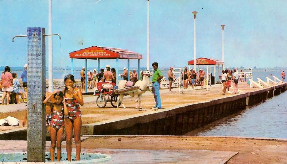 4. 10 ноября 1985 года, вследствие прорыва плотины на озере, Лаго-Эпекуэн начал постепенно затоплять