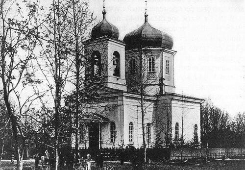 Собор Рождества Пресвятой Богородицы после ремонта 1904-1906 годов.